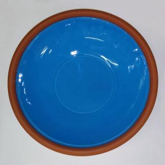 Large Turquoise Dish